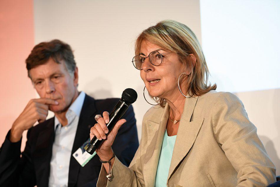 Ariane Thomas, directrice du développement stratégique des Opérations chez L'Oréal. © GS1 France/Eric Durand